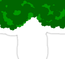 Green Tree II Sticker