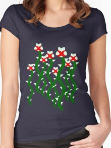 Piranha Plant Women's Fitted Scoop T-Shirt