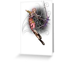 Fantasy XIII-2 - Serah Farron² Greeting Card