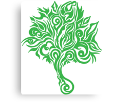 Flowwer_tree Canvas Print