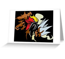 Pokemon: Entei Greeting Card