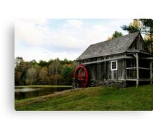 Vermont Grist mill Canvas Print