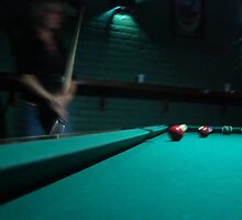Late Night Game of Pool by dwcdaid