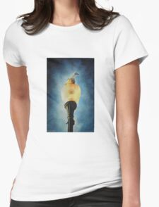Illuminated Womens Fitted T-Shirt