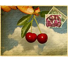 Cherry In The Sky Photographic Print