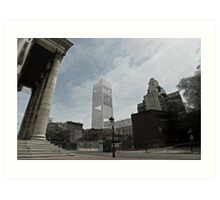 Independence National Park Visitor Center Art Print