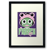 Frosch thinks so too! Framed Print