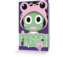 Frosch thinks so too! Greeting Card