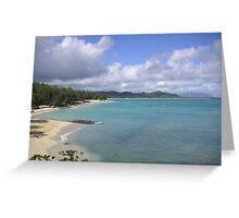 Hawaii coastline Greeting Card