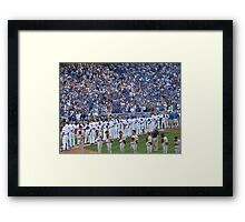 National Anthem Framed Print