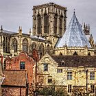 The Minster from the City Walls by Tom Gomez