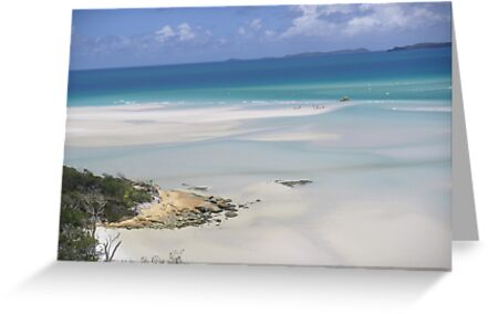 whitehaven beach by Patrick Eckard