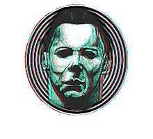 MICHAEL MYERS HALLOWEEN 3D Photographic Print