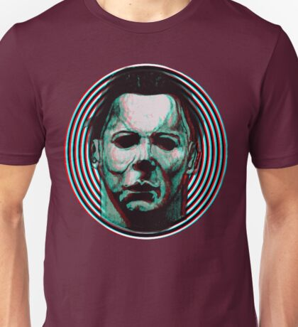MICHAEL MYERS HALLOWEEN 3D Unisex T-Shirt