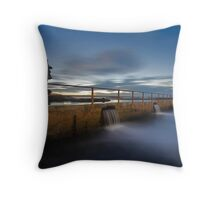 The Morning Pool Throw Pillow