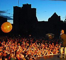 Ludlow Castle Gig by lozzo