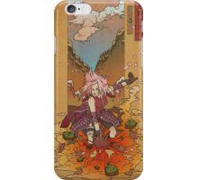 Woodblock - Sakura iPhone Case/Skin