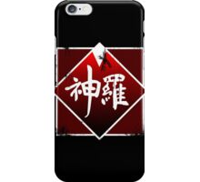 Shinra grunge logo iPhone Case/Skin