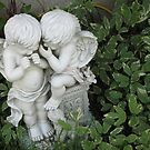 Whispering Cherubs by gypsykatz
