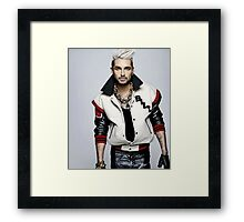 Bill Tokio Hotel Framed Print