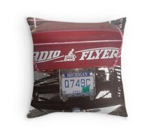 "RADIO FLYER ""FISH EYE"" Throw Pillow"