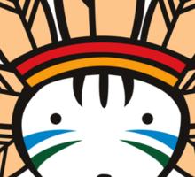 Mohawk Cat Sticker
