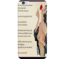 Pluck Not The Rose  iPhone Case/Skin