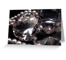 Diamonds 'n Pearls Greeting Card