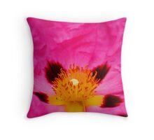 Flower Centre Throw Pillow
