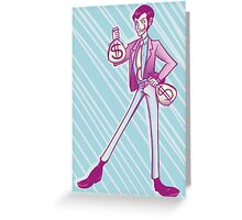 Lupin III Moneybags Greeting Card