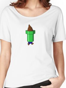 Bad Yoshi Ice Cream Cone Women's Relaxed Fit T-Shirt