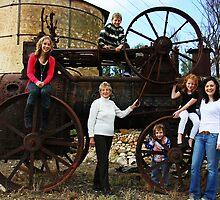 On the Farm by Naomi Clarke