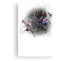 Final Fantasy XIII-2 - Serah Farron and Noel Kreiss Canvas Print
