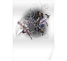 Final Fantasy XIII-2 - Serah Farron and Noel Kreiss Poster
