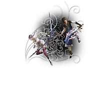 Final Fantasy XIII-2 - Serah Farron and Noel Kreiss Photographic Print
