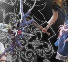 Final Fantasy XIII-2 - Serah Farron and Noel Kreiss Sticker