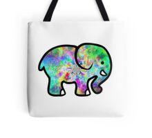 Trippy Elephant Tote Bag