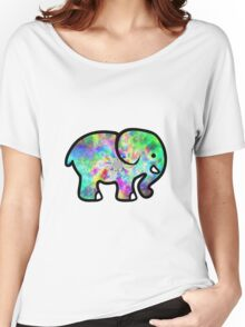 Trippy Elephant Women's Relaxed Fit T-Shirt