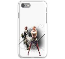 Final Fantasy XIII-2 - Lightning (Claire Farron) and Serah Farron iPhone Case/Skin