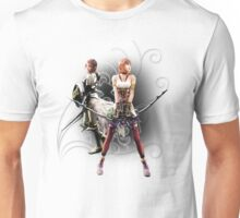 Final Fantasy XIII-2 - Lightning (Claire Farron) and Serah Farron Unisex T-Shirt