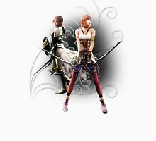 Final Fantasy XIII-2 - Lightning (Claire Farron) and Serah Farron Unisex T-Shirt