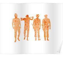 Clockwork Orange - Droogs Poster