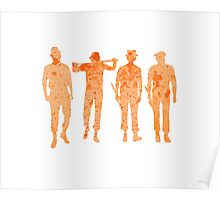 Clockwork Orange - Droogs Poster