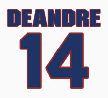 Basketball player DeAndre Liggins jersey 14 by imsport