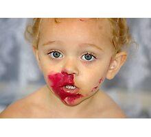 Lipstick monster Photographic Print