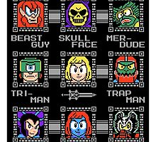 Mega Masters of the Universe STICKER by RyanAstle