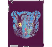 Girl and the bear iPad Case/Skin