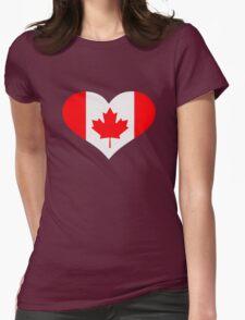 Canada flag heart T-Shirt