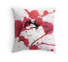 Dancing her socks off Throw Pillow