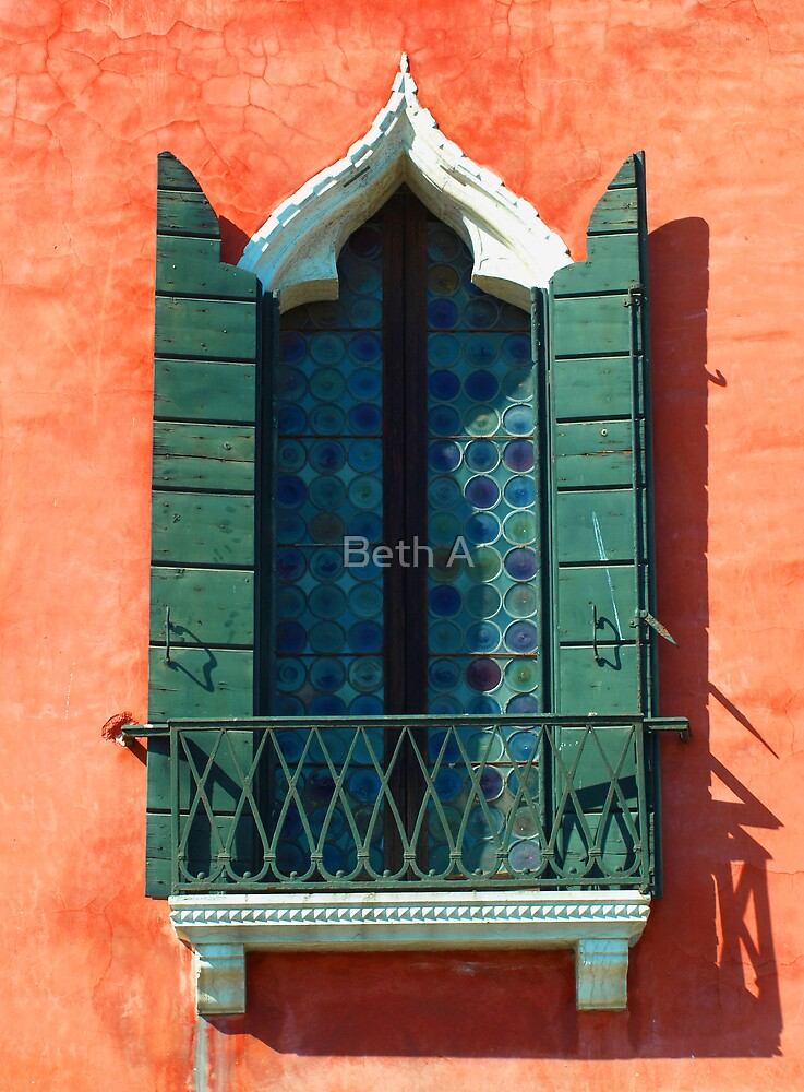 Window to Venice by Beth A
